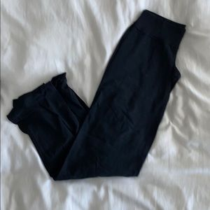 Lululemon Wide Leg Pants w/Ribbed Waistband